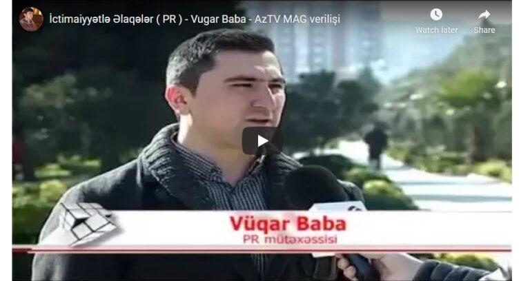AzTV-in MAG verilişinin PR barədə sujeti