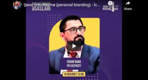 personal branding - şəxsi brendləşmə